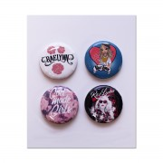 4-piece Button Set