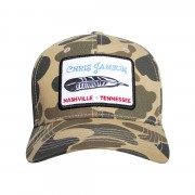 Camo Feather Hat