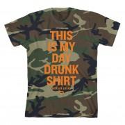 Day Drunk Camo T-Shirt