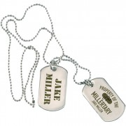 Millertary Dogtag Necklace
