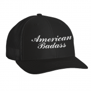 Black Garage Badass Hat