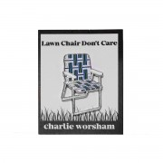 Lawn Chair Lapel Pin