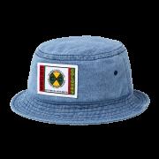 24K CxC Patch Bucket Hat (Denim)