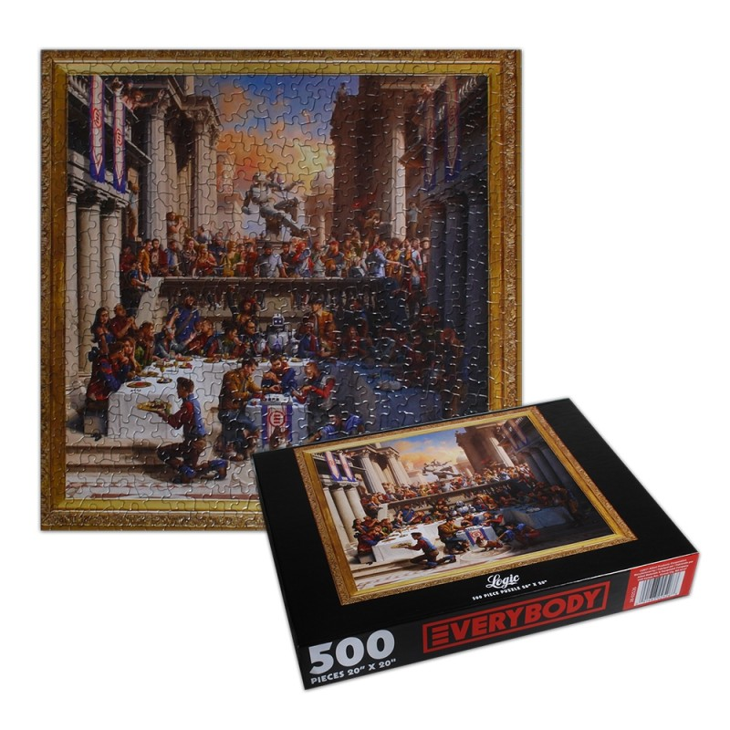Everybody Cover Puzzle
