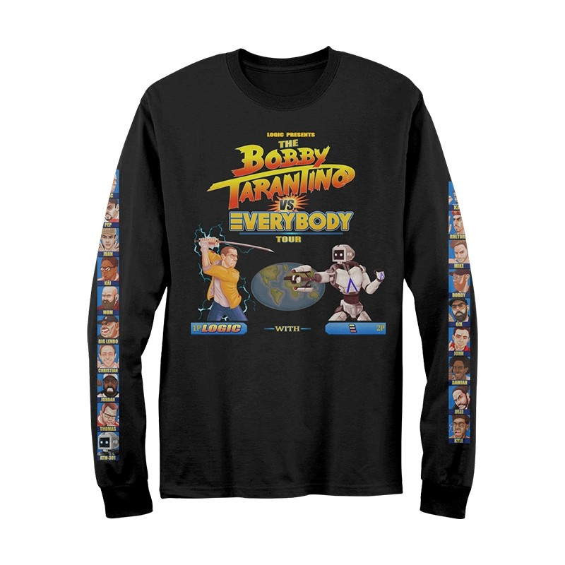 BTvE Streetfighter Long Sleeve T-Shirt