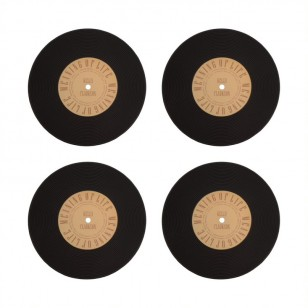 Heat Vinyl Coasters (Set of 4)