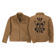 Unbothered Workman Jacket (Tan)