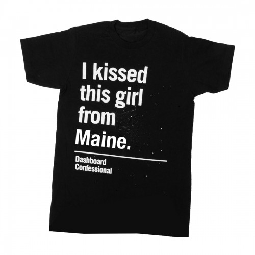 Kissed A Girl Maine T-Shirt